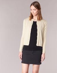 Vêtements Femme Gilets / Cardigans BOTD EVANITOA Beige