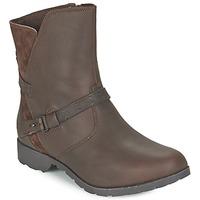 Chaussures Femme Boots Teva DELAVINA LOW Marron