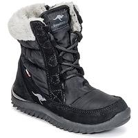 Chaussures Fille Bottes de neige Kangaroos CUPY JUNIOR Noir