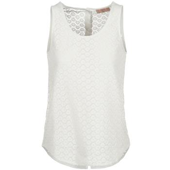 Vêtements Femme Débardeurs / T-shirts sans manche Moony Mood IGUOHIAVINE Blanc