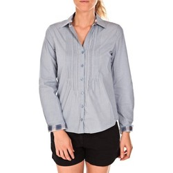 Vêtements Femme Chemises / Chemisiers Tom Tailor Chemise Beatrix Bleue Bleu