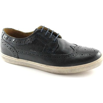 Chaussures Homme Derbies Base London Anglais Chaussures  EMPRESS P09400 marine hommes Blu