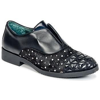 Chaussures Femme Derbies Café Noir BASILE Noir