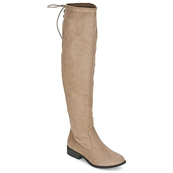 Chaussures Femme Cuissardes Coolway BOPPY Taupe