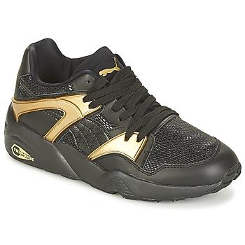 Chaussures Femme Baskets basses Puma BLAZE GOLD WN'S Noir / Doré