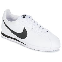 Chaussures Homme Baskets basses Nike CLASSIC CORTEZ LEATHER Blanc / Noir