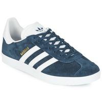 Chaussures Baskets basses adidas Originals GAZELLE Marine