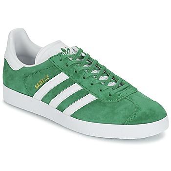 Chaussures Baskets basses adidas Originals GAZELLE Vert