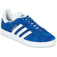 Chaussures Baskets basses adidas Originals GAZELLE Bleu