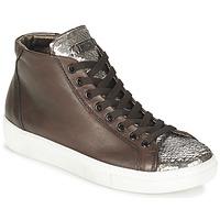 Chaussures Femme Baskets montantes Tosca Blu ALEXA Marron / Argent