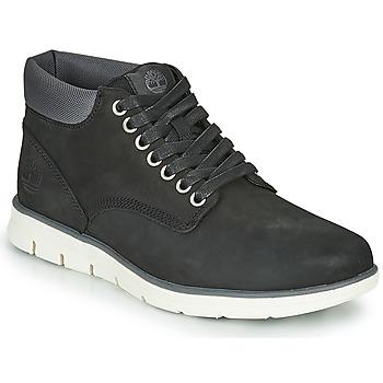 Chaussures Homme Baskets montantes Timberland BRADSTREET CHUKKA LEATHER Noir