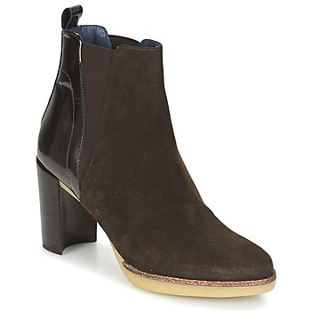 Chaussures Femme Bottines Spiral LUPE-1.3 Marron