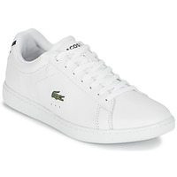 Chaussures Femme Baskets basses Lacoste CARNABY EVO BL 1 Blanc