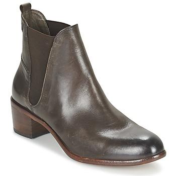 Chaussures Femme Bottines Hudson COMPUND CALF Marron