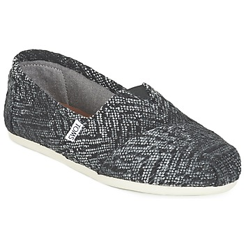 Chaussures Femme Slip ons Toms SEASONAL CLASSIC Gris