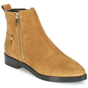 Chaussures Femme Boots Kenzo TOTEM FLAT BOOTS Camel