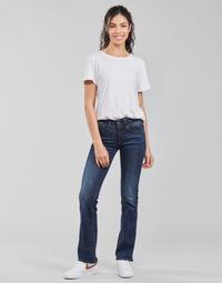 Vêtements Femme Jeans bootcut G-Star Raw MIDGE SADDLE MID BOOTLEG Neutro Stretch Denim Dk Aged