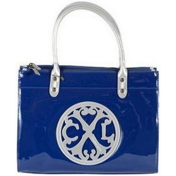 Sacs Femme Sacs porté main Christian Lacroix Sac  JONC 2 Bleu Nuit/Argent Bleu