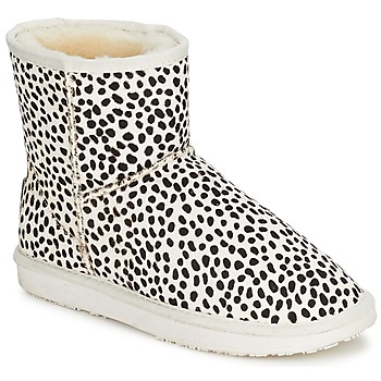 Chaussures Femme Boots Booroo MINNIE LEO Taupe Leo