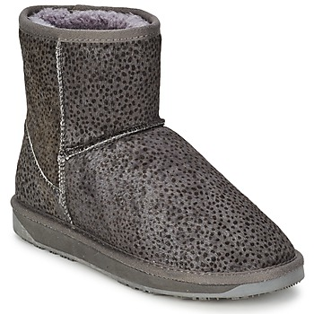 Chaussures Femme Boots Booroo MINNIE LEO Gris Leo