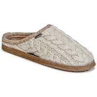 Chaussures Femme Chaussons Giesswein NEUDAU Beige