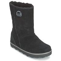 Chaussures Femme Bottes de neige Sorel GLACY Noir
