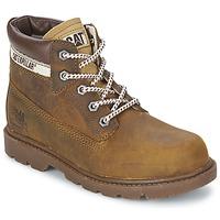 Chaussures Enfant Boots Caterpillar COLORADO PLUS Beige