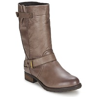 Chaussures Femme Bottes ville Gioseppo FREIRE Taupe