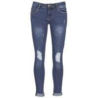 Vêtements Femme Jeans slim Yurban IFOUNOLE Bleu medium