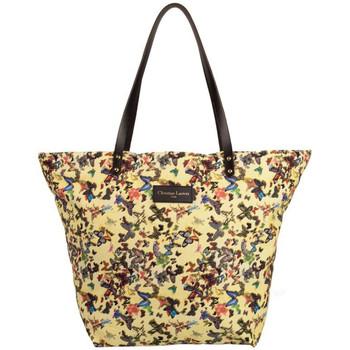 Sacs Femme Cabas / Sacs shopping Christian Lacroix Sac shopping  Eden 1 Papillon Jaune Jaune