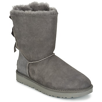 Chaussures Femme Boots UGG BAILEY BOW II Gris