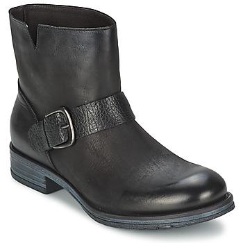 Chaussures Femme Boots Café Noir ROSAS Noir