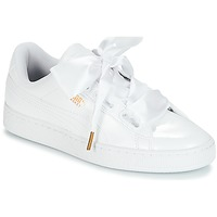 Chaussures Femme Baskets basses Puma BASKET HEART PATENT WN'S Blanc