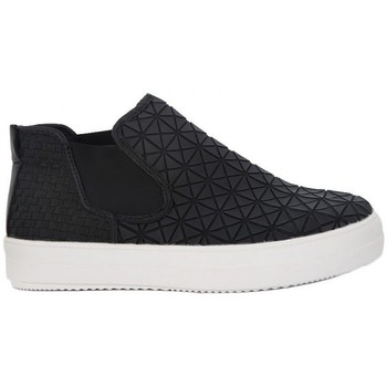 Chaussures Femme Baskets montantes Bernie Mev MID AXIS WEB Nero