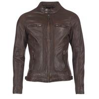 Vêtements Homme Vestes en cuir / synthétiques Oakwood CASEY Marron
