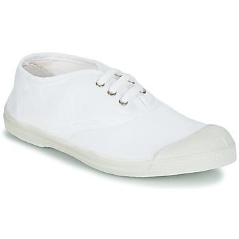 Chaussures Enfant Baskets basses Bensimon TENNIS LACET Blanc