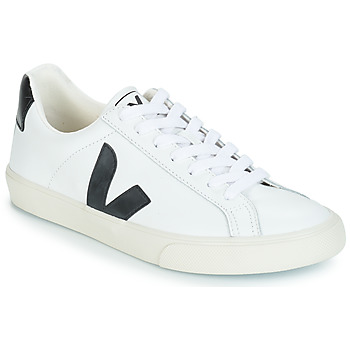 Chaussures Baskets basses Veja ESPLAR LOW LOGO Blanc / Noir
