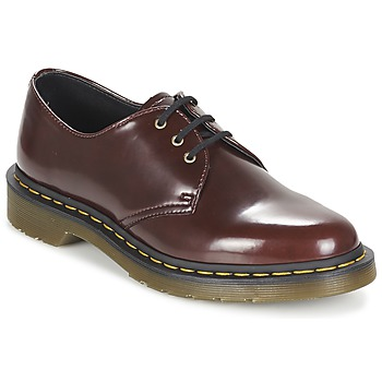 Chaussures Femme Derbies Dr Martens VEGAN 1461 Rouge cerise