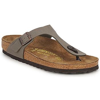Chaussures Femme Sandales et Nu-pieds Birkenstock GIZEH Stone