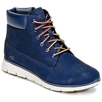 Chaussures Enfant Boots Timberland KILLINGTON 6 IN Bleu