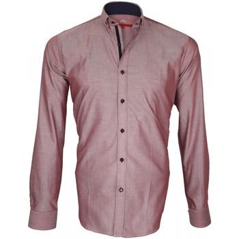 Vêtements Homme Chemises manches longues Andrew Mac Allister chemise oxford brookes bordeaux Bordeaux