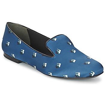 Chaussures Femme Ballerines / babies Kenzo 2SL110 Bleu Marine
