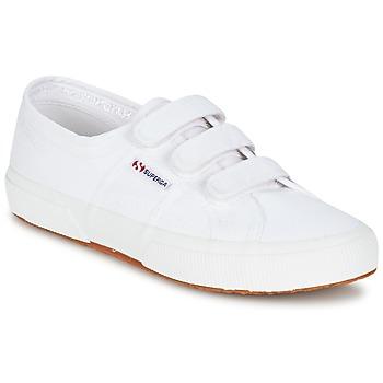 Chaussures Baskets basses Superga 2750 COT3 VEL U Blanc