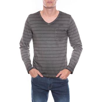 Vêtements Homme T-shirts manches longues Ritchie T-SHIRT JOSIAH Gris