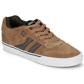 Chaussures Homme Chaussures de Skate Globe ENCORE-2 Marron