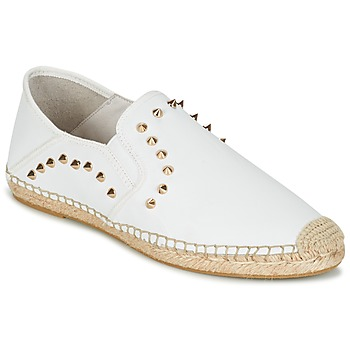 Chaussures Femme Espadrilles Ash ZABOU Blanc