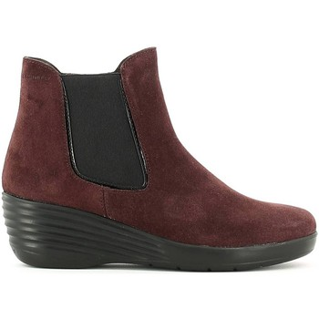 Chaussures Femme Boots Stonefly 107408 Bottes Femmes Wine Wine