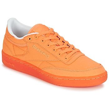 Chaussures Femme Baskets basses Reebok Classic CLUB C 85 CANVAS Orange