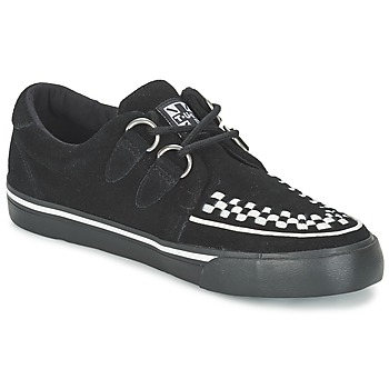 Chaussures Baskets basses TUK CREEPERS SNEAKERS Noir / blanc
