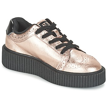 Chaussures Femme Baskets basses TUK CASBAH CREEPERS Rose métallique